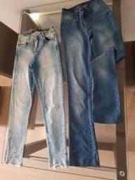 Lote calça jeans de marca 38