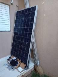 Kit solar fotovoltaico gerador completo 0,66 kwp