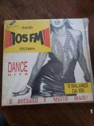 disco de vinil RÁDIO 105 FM