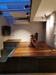 Cobertura de piscina  spa e hidro