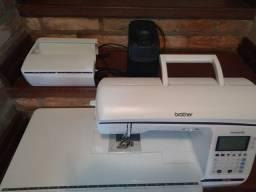 Máquina de Costura e bordado Computadorizada Brother