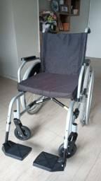 Cadeira de rodas Polior até 125kg (1 mês de uso, nova)