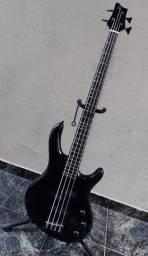 """Contrabaixo Cort Action Bass 100% """"Tunado"""" ATIVO"""