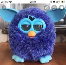 Furby azul escuro