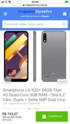 Smartphone LG K22+ 64 GB