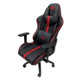 Cadeira Gamer MTEK MK02 Preto/Vermelho R$1.600