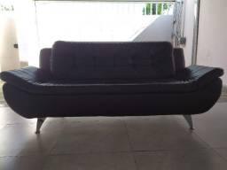 Lindo Sofá em Courino - 03 Lugares - Modelo Premium