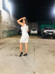 Título do anúncio: Vestido branco p/m