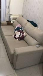 Sofá 2,50 metros retratil e reclinavel....