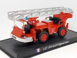 Minitura Carros bombeiros escala 1:64
