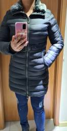 Jaqueta casaco Longo