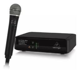 Microfone Behringer de Mão com Receptor Sem Fio ULM300MIC