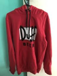 Moletom Vermelho Duff Beer P