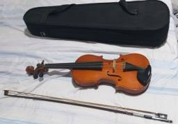 Violino Usado Com Capa Inclusa
