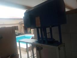 Máquina de fazer sandália da compacta print zeradinha