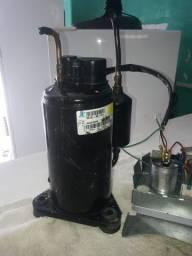 Compressor de ar condicionado 12 e 9 mil BTUs