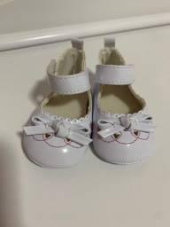 Sapato bebê  6 meses