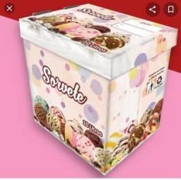 Caixa de sorvete 10 , litros