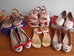 Lote sapato menina