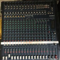 Console de mixagem Yamaha MG 206 C