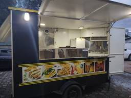 Trailer food truck completo