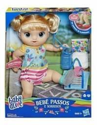 Boneca Baby Alive Passos Iluminados Sons/Frases Luzes 100% Original Novo Lacrado!