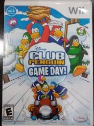 Jogo Wii Club Pinguim Game Day