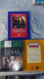 LIVROS HISTÓRIA GERAL, HISTÓRIA MODERNA E CONTEMPORÂNEA
