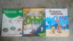 Vendo livros do terceiro ao quinto ano
