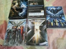Coleção DVDs originais X-MEN, só R$ 5,71 cada, leia o anúncio