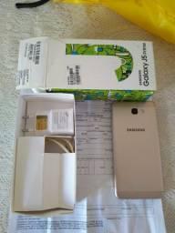 Samsung J5Prime 32gb Ram 3gb Rom excelente com caixa manual carregador e nota fiscal