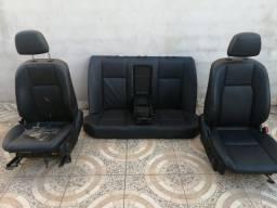 Jogo de Banco de Mercedes C180 C200 Eletrico Com Airbag
