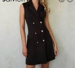 Blazer/vestido alongado
