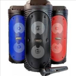 Caixa De Som Bluetooth Usb Wireless Speaker Kimiso Kms-6681