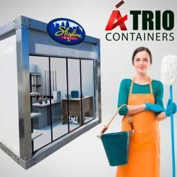 Container 2x3M ? Franquias/Plantão de Vendas/Recepção/Guarita