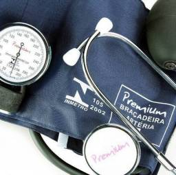 Aparelho Medidor de Pressão Arterial Aneróide com Estetoscópio