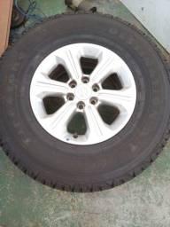 Roda aro 16 pneus firestone 265/75 raio 16