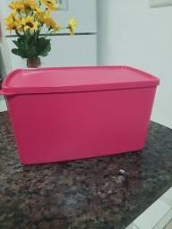 Tupperware espaçosa 3 litros rosa perfeita