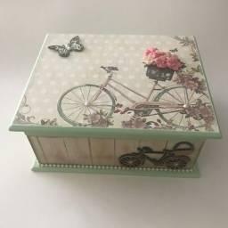 Caixas artesanais  - Dia das mães