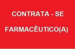 Contrata se farmaceutico com experiência em farmacia de manipulação