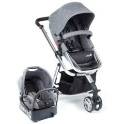 Carrinho 3x1 Safety Mobi Grey Denim Completo! Novo na caixa!!!!