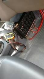 Vendo som automotivo Roadstar 1200 Power 2400 alto falante tudo Pioneer
