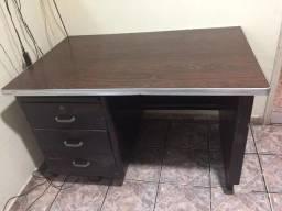 Antiga Escrivaninha Mesa Em Aço Anos 50 - Escritório Indústria