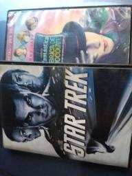 Dois dvd originais,StarTrek, Fantás.FAB.deChocolat