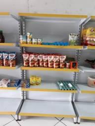 Gôndolas para mercearia / supermercado