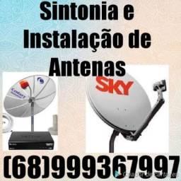 Técnico em antenas sintonia instalador//