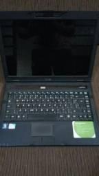 Notebook Dell para peças