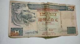Nota de 20 dolares chines de 1994