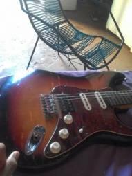 Guitarra em celular