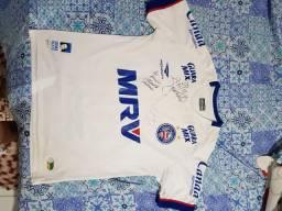 Camisa do Bahia Autografada craques 88